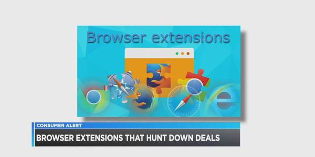 Browser extensions that hunt down deals