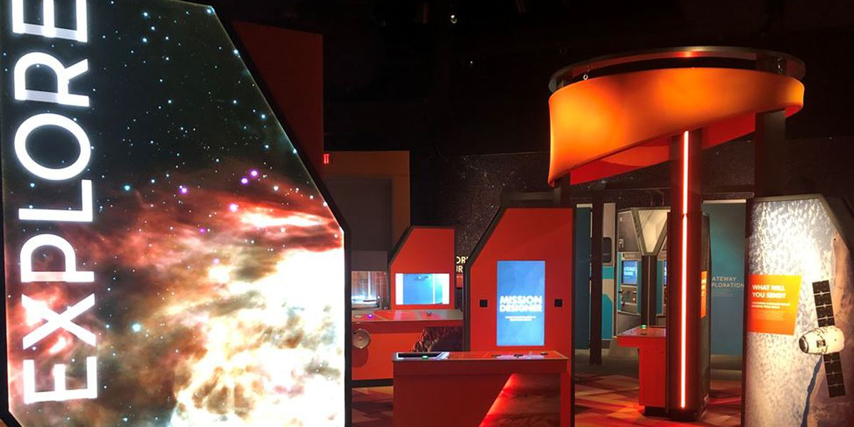 Space Gallery reopens at Cincinnati Museum Center
