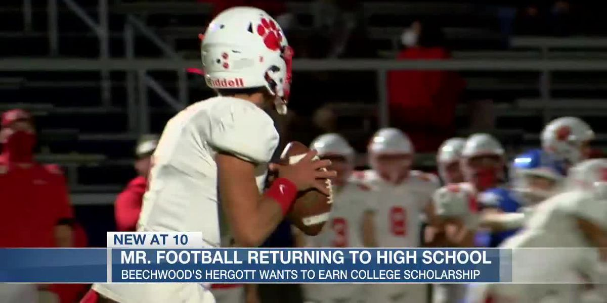 Mr. Football: I'm coming back to earn a scholarship