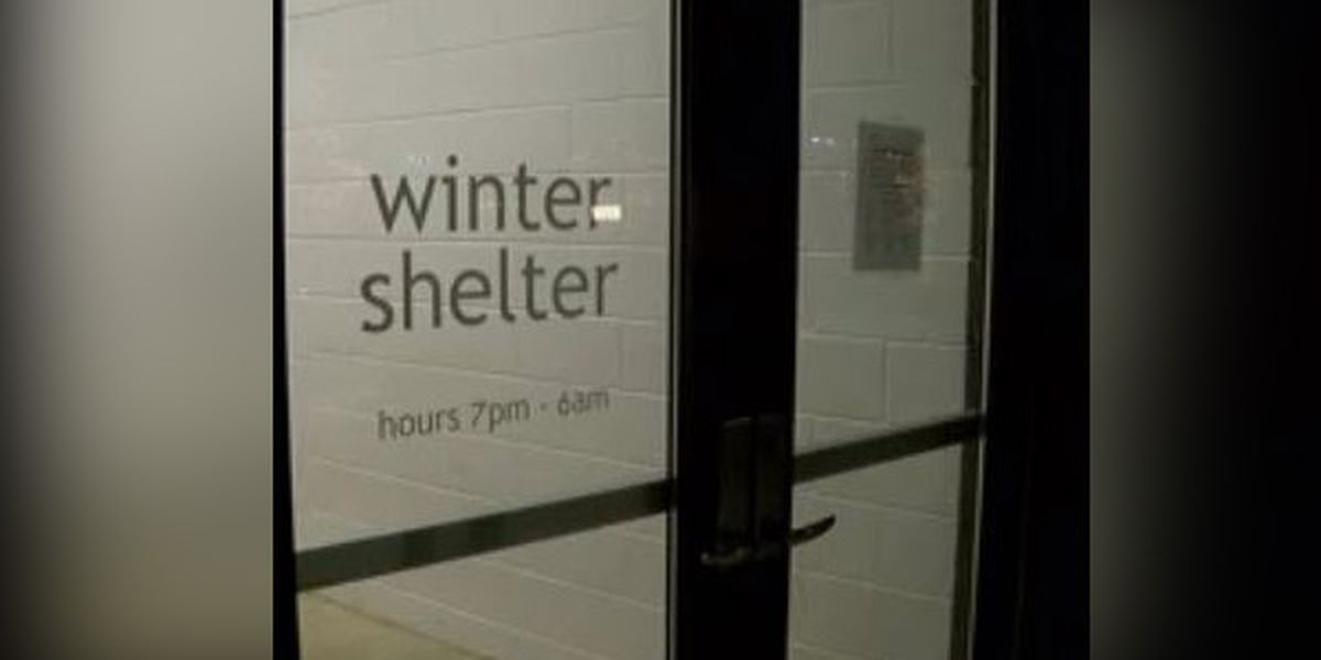 Winter homeless shelter remains unopened after protests