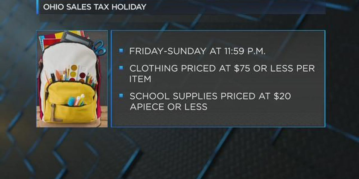 Simply Money: 2018 State Sales Tax Holiday