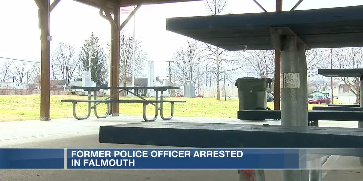 Former police officer arrested in Falmouth