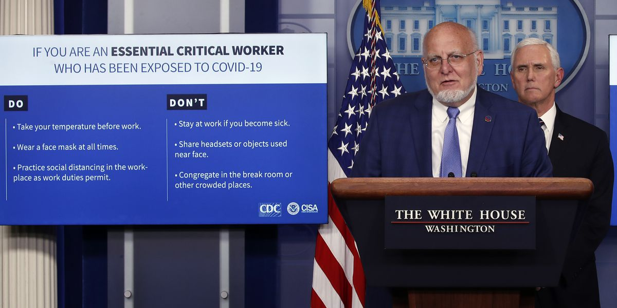 New CDC guidance for essential workers during coronavirus