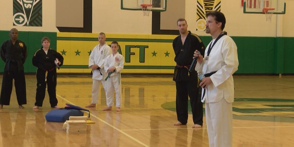 Martial arts showcase honors Sonny Kim