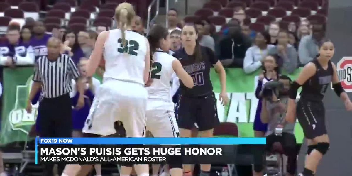 Mason's Sammie Puisis makes McDonald's All-American roster