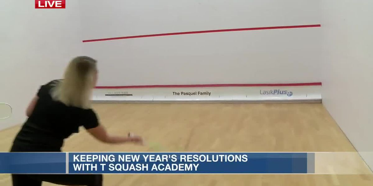 Keeping New Year's resolutions with Squash Academy