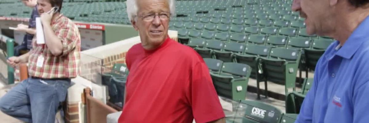 Marty Brennaman celebrates 40 years with the Cincinnati Reds
