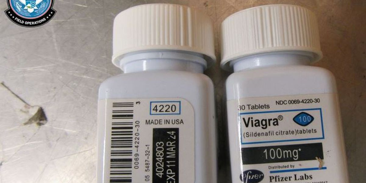 More than 33 pounds of Viagra seized by Cincinnati CBP officers