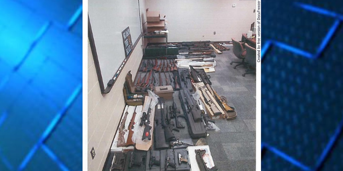 Ohio police confiscate 76 firearms; considered one of largest gun seizures in state history
