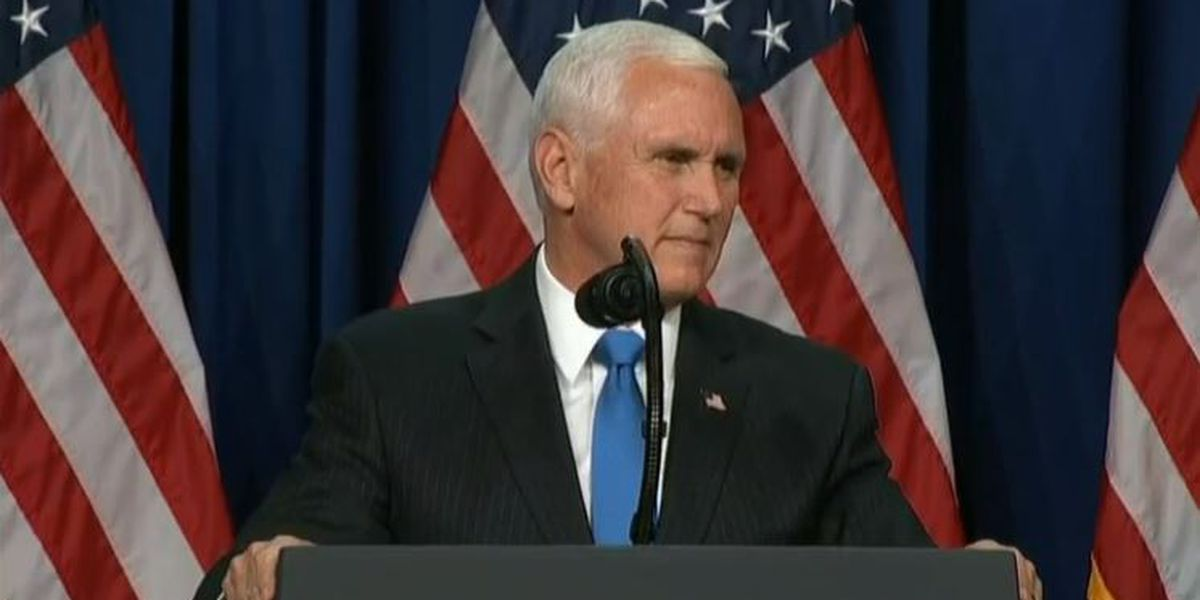 VP Mike Pence to make campaign stop in Ohio next week