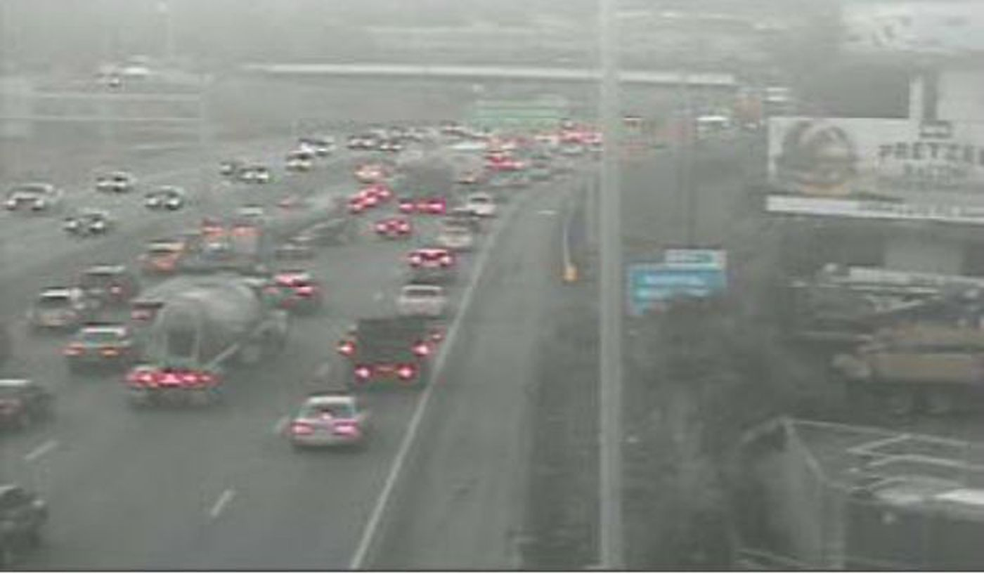 Lanes reopen on I-75 south near Hopple after crash