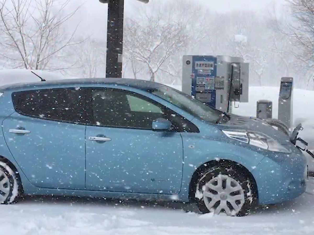 A warning about the toll cold weather could take on electric cars