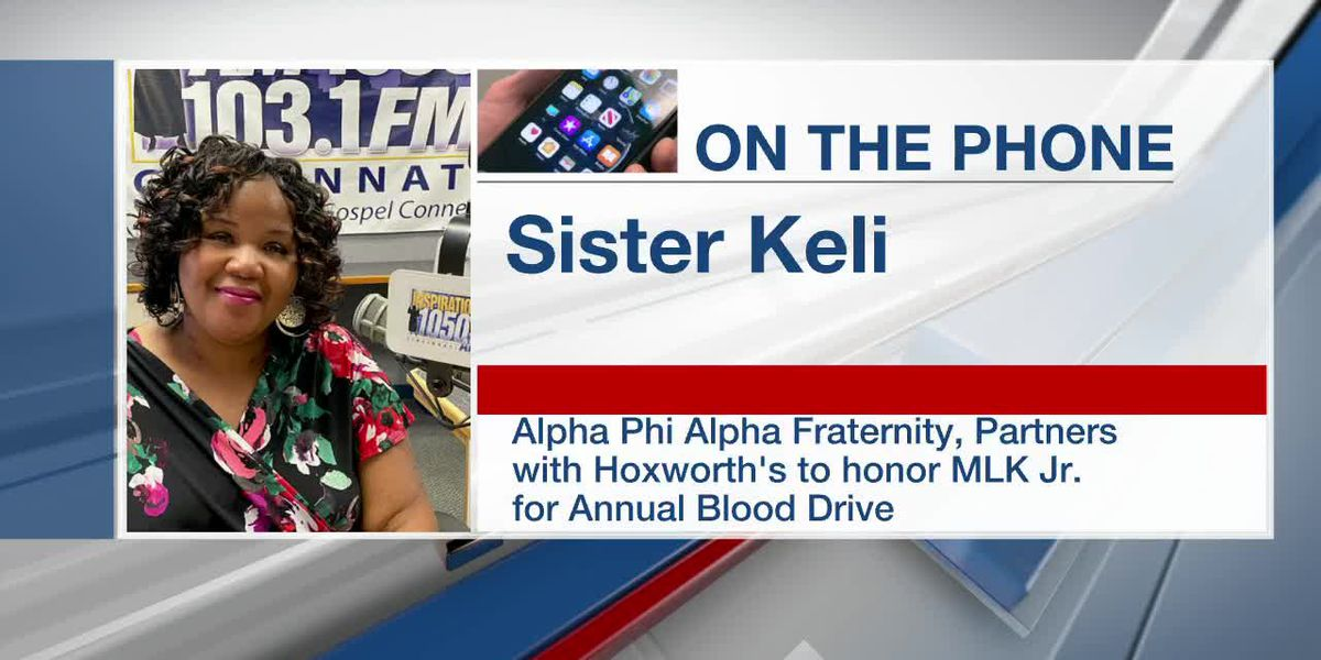 Alpha Phi Alpha fraternity, Hoxworth Blood Center to honor MLK Jr. for annual blood drive
