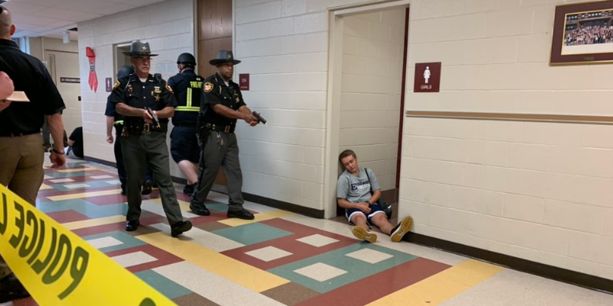 Large-scale active shooter drill underway in Butler County