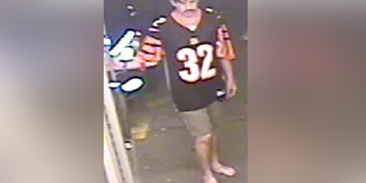 Help police identify the 'barefoot beer bandit'
