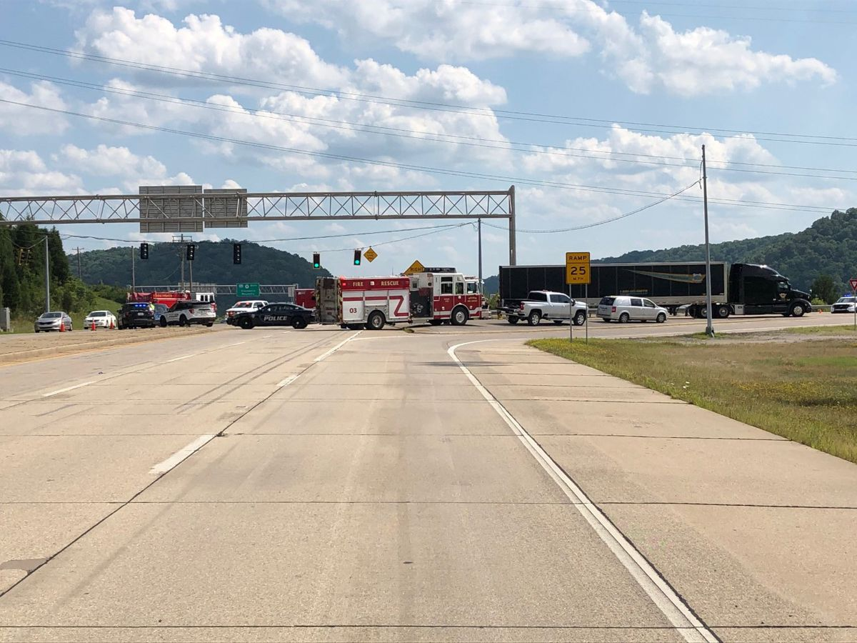 2 people dead after motorcycle, semi crash on AA Highway, police say