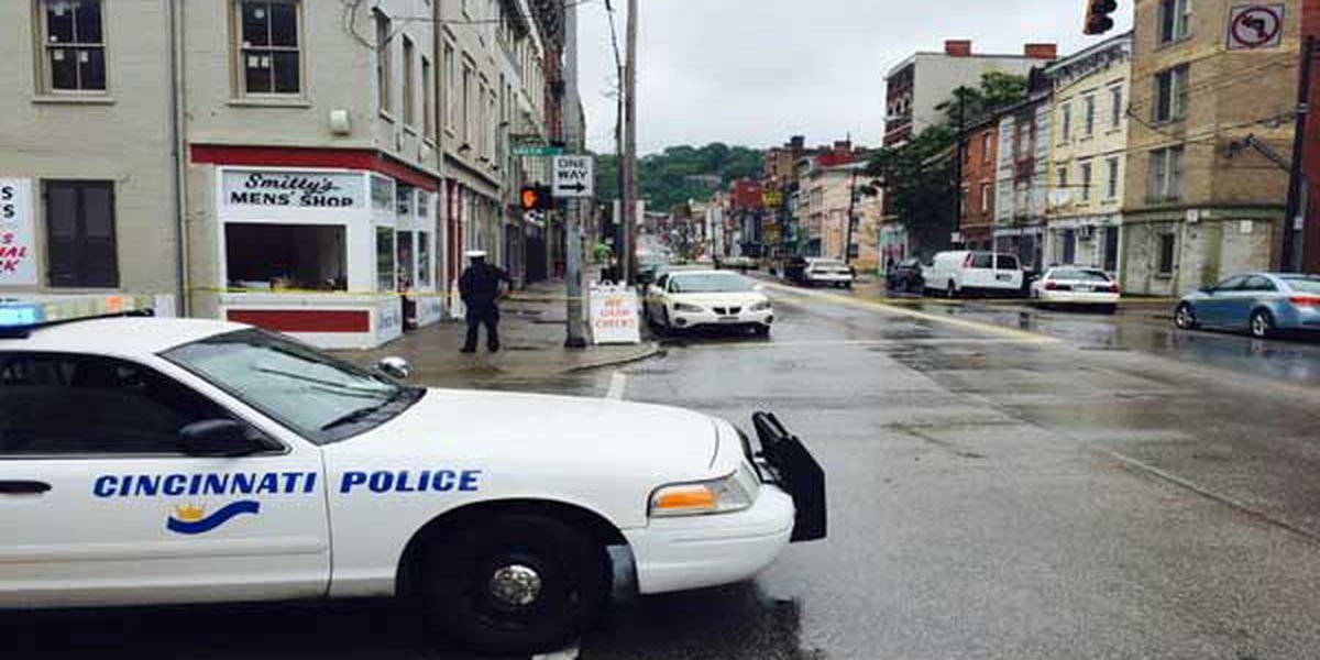 Police search for suspect after victim suffers gunshot wound in OTR