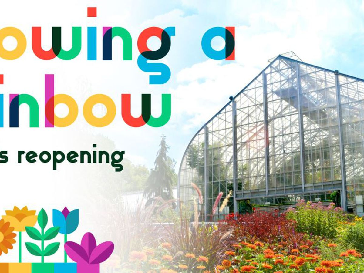 Krohn Conservatory reopens with new show, safety guidelines