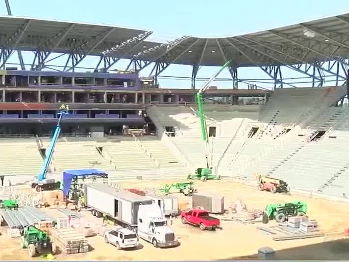 West End Stadium construction on schedule for Spring opening, FCC says