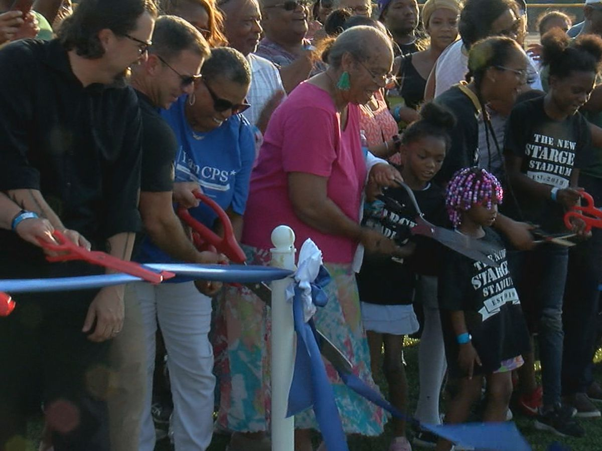 New Stargel Stadium plays host to first football game
