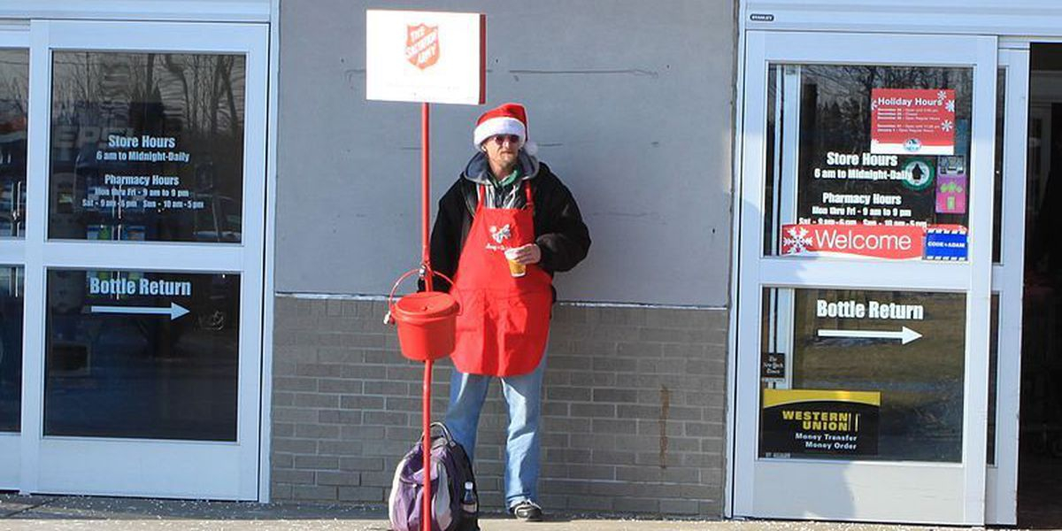 Salvation Army looking for volunteer bell ringers