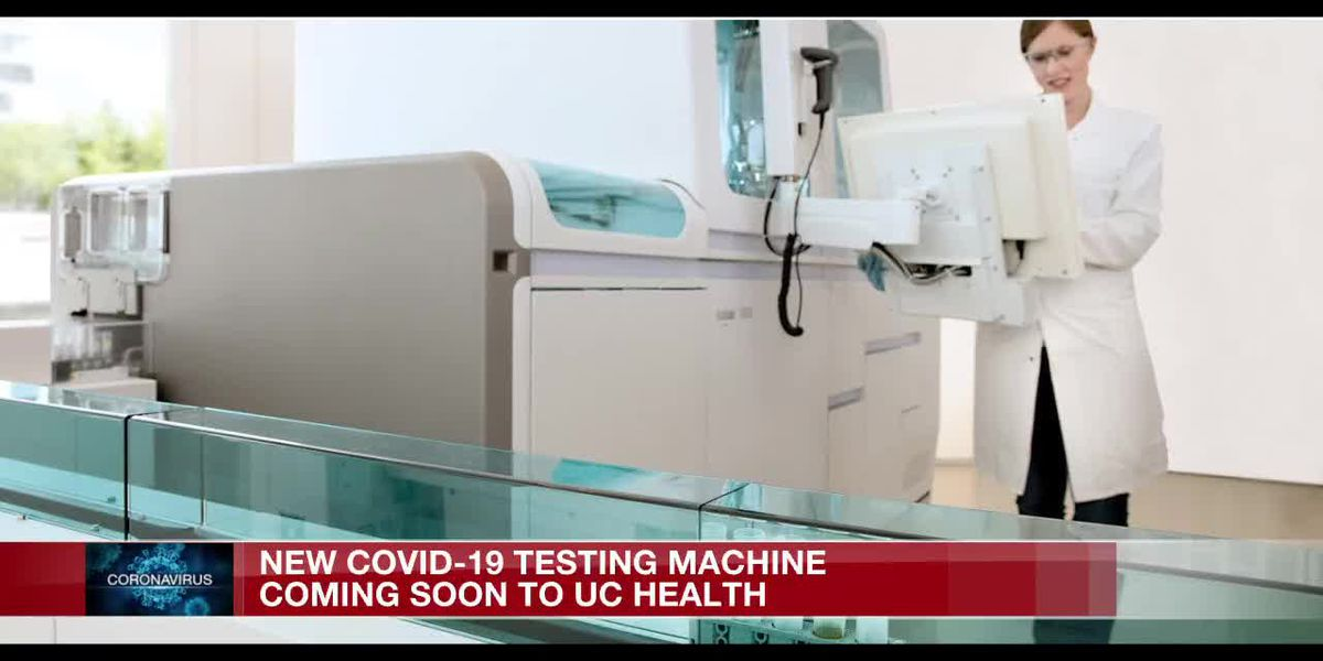 New COVID-19 testing machine coming to UC Health