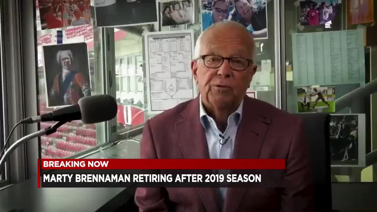 Marty Brennaman retiring after 2019 season