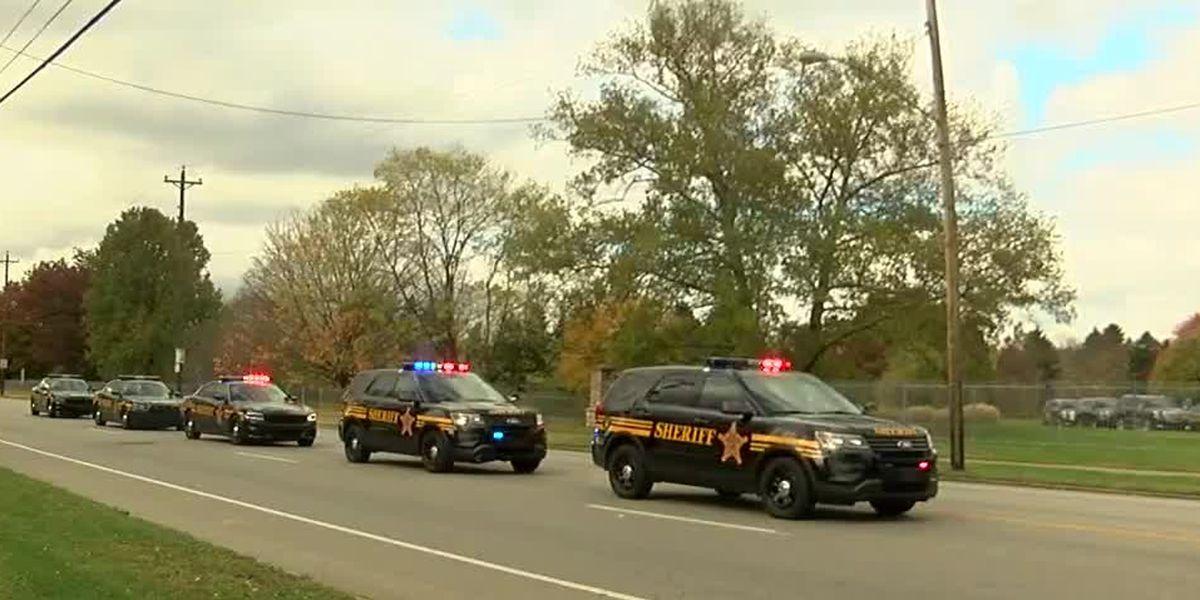 Visitation held at Spring Grove for fallen sheriff's deputy