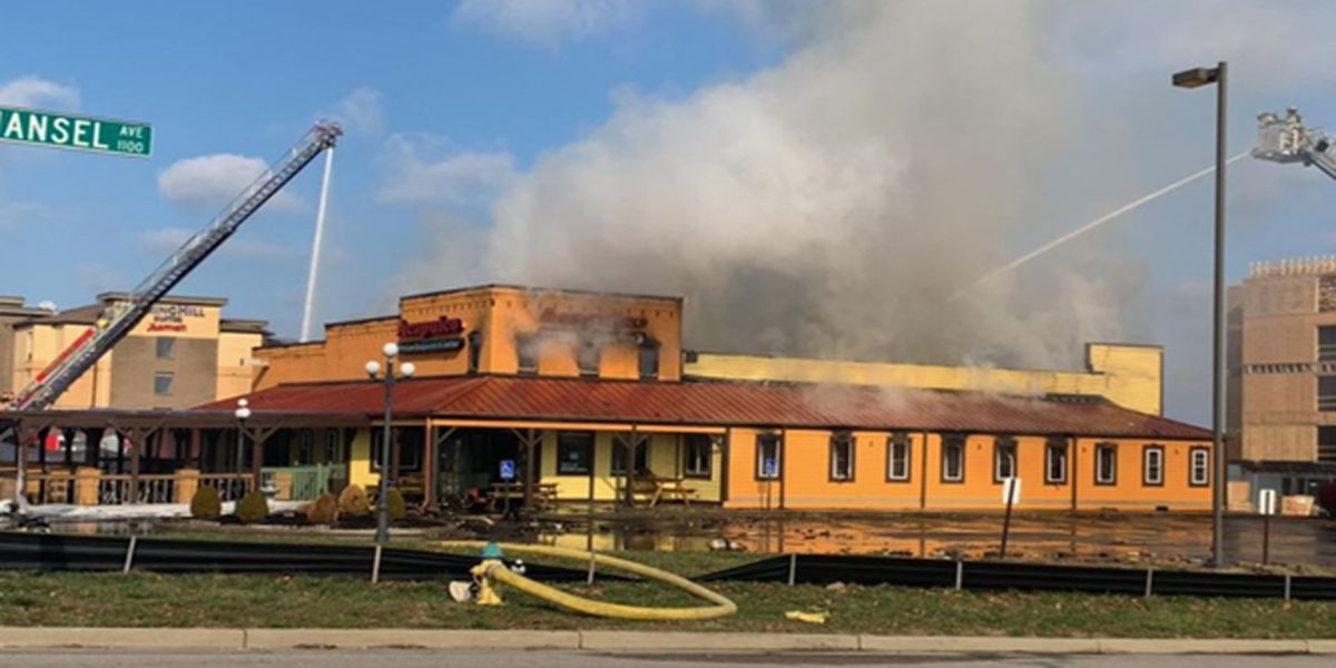 Crews battle major fire at Acapulco Mexican Restaurant in Florence, KY