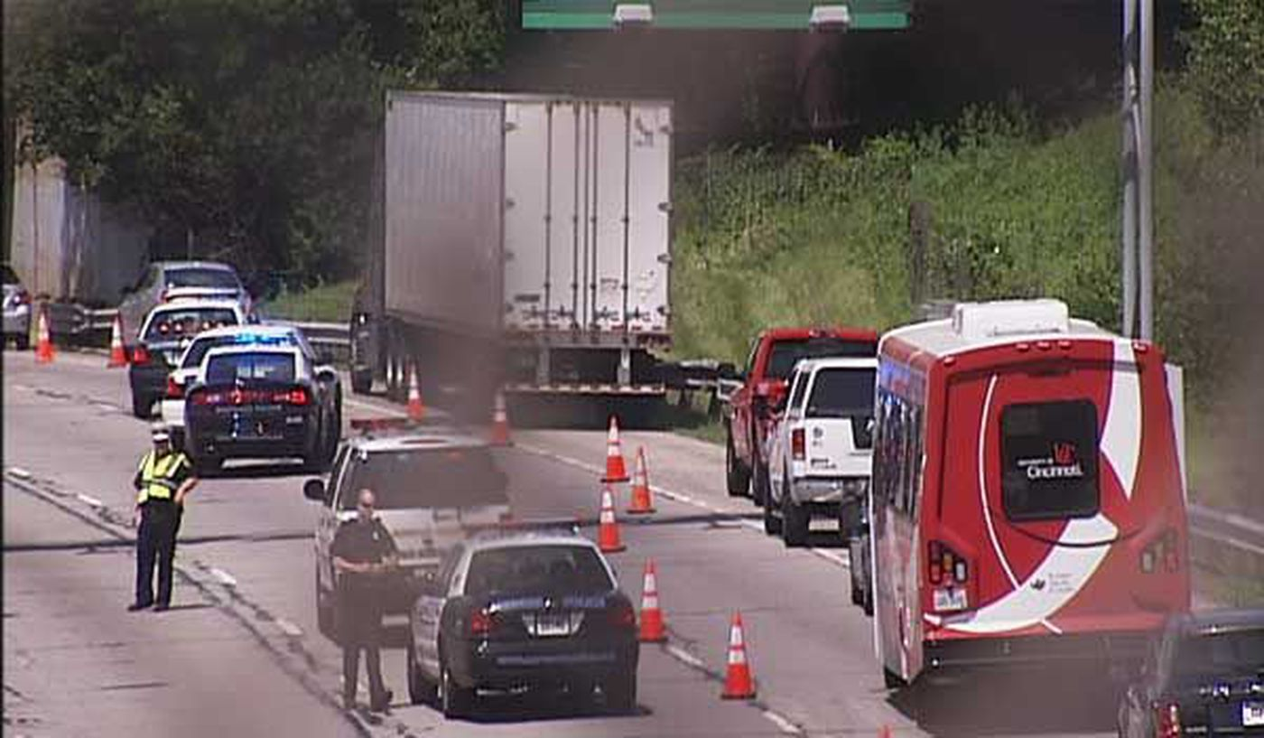 Northbound I 71 Re Opened After Fiery Crash