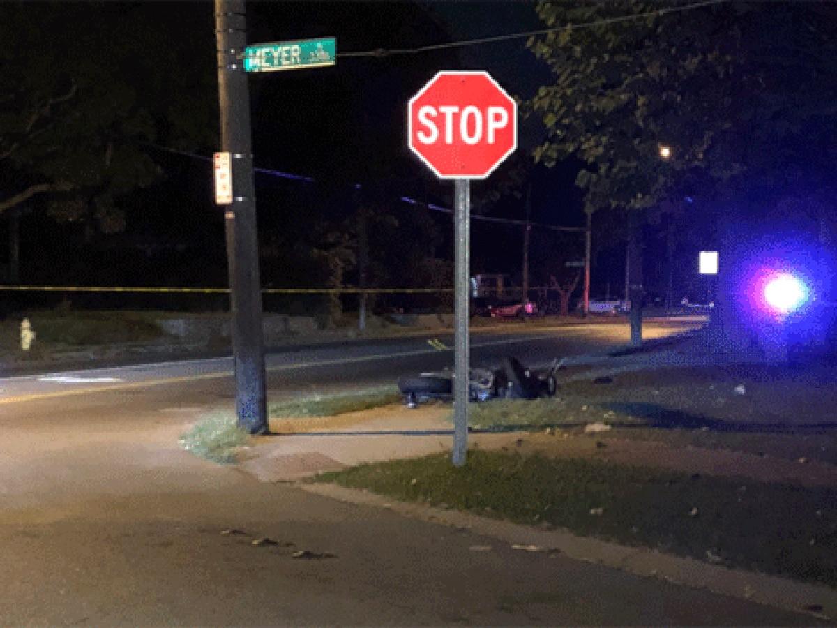 Motorcyclist critically hurt in Westwood crash