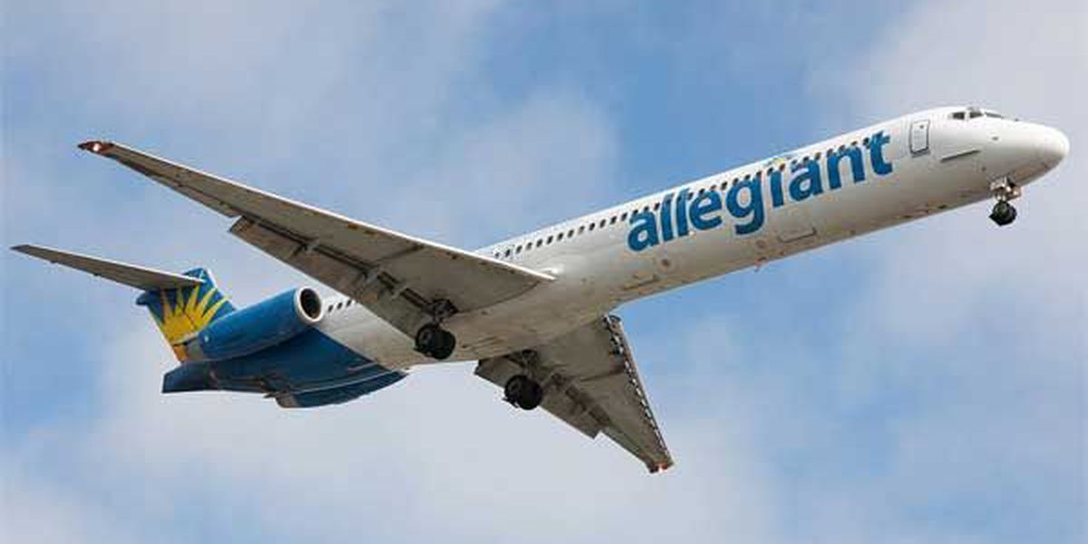 Allegiant Air launches nonstop service to Charleston, Sarasota