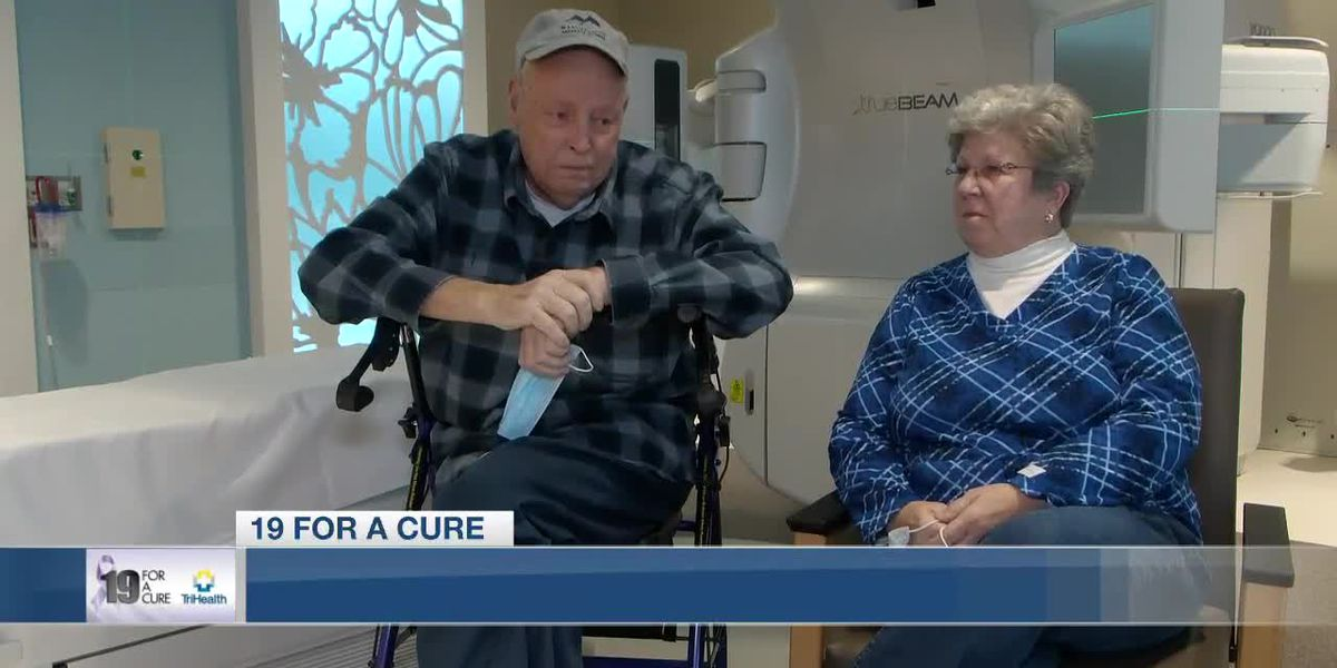 19 for a Cure: Man says he's not going to let lung and brain cancer stop him from living his life