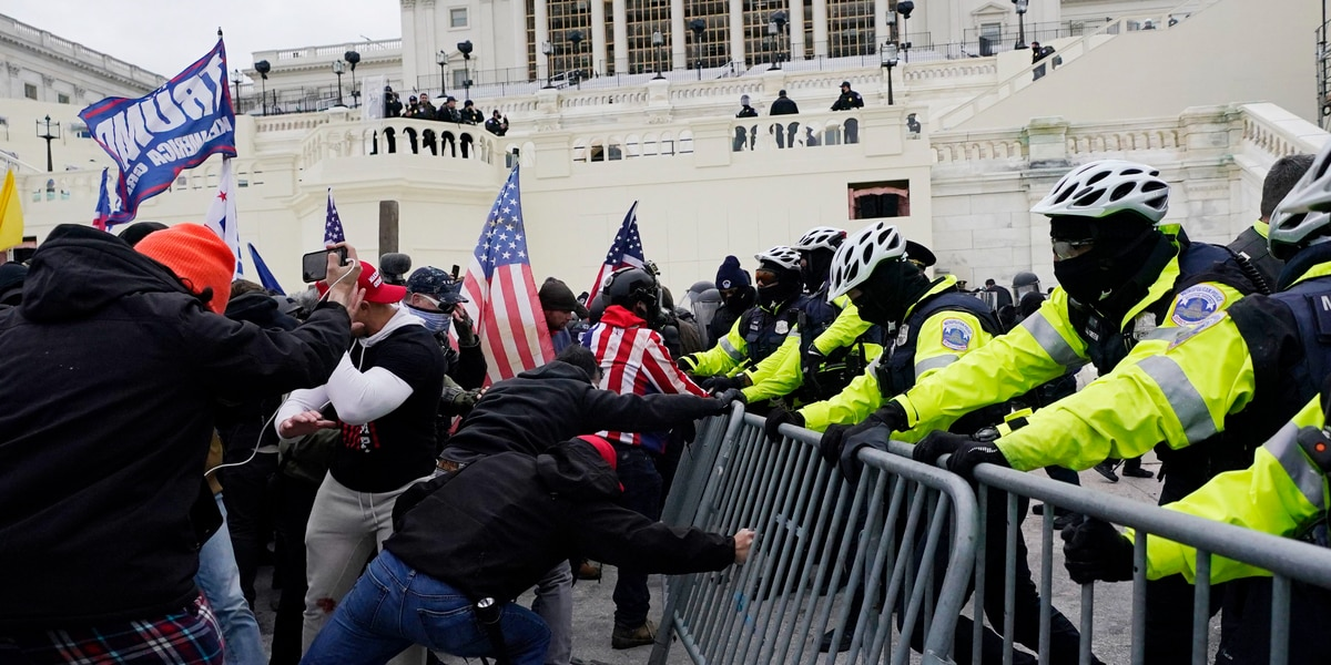 Chief: Capitol Police were ready for trouble, but not a riot