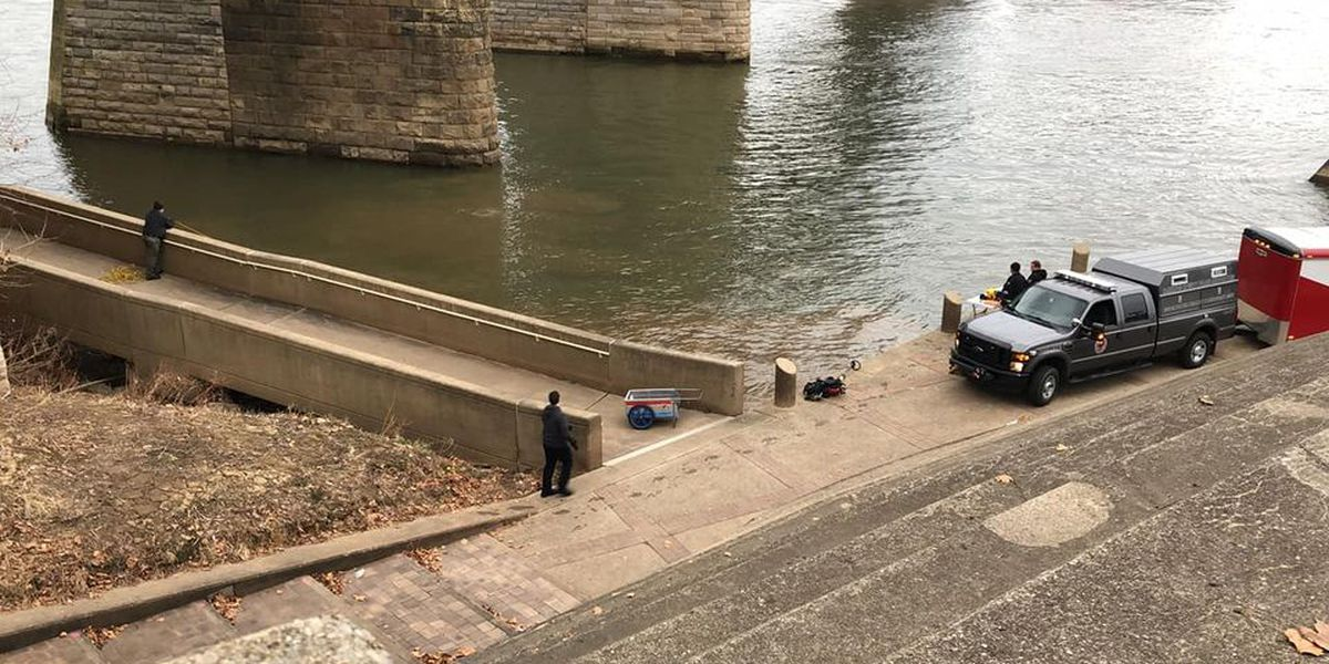 Crews search near Purple People Bridge for missing 3-year-old