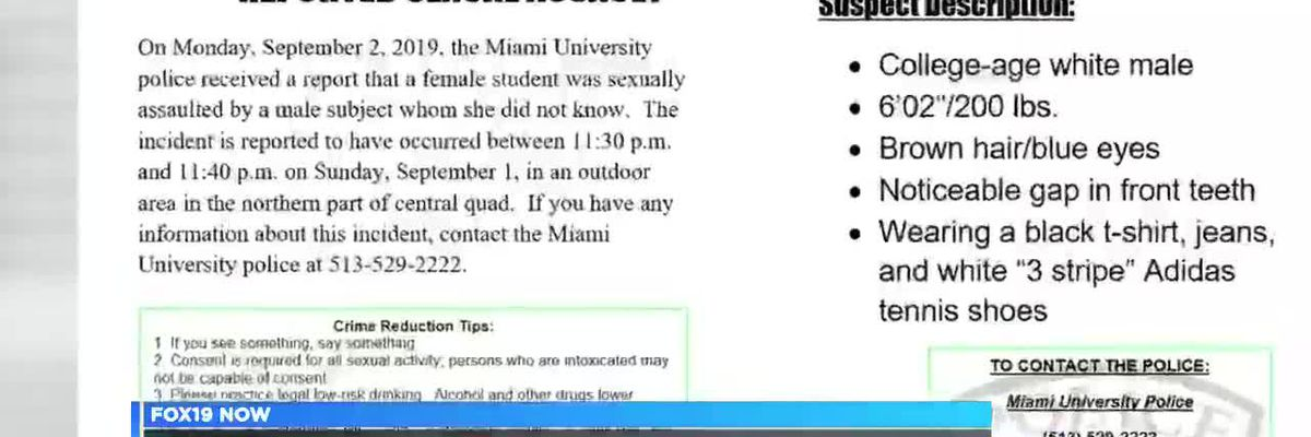 Miami University police investigating report of sexual assault on campus