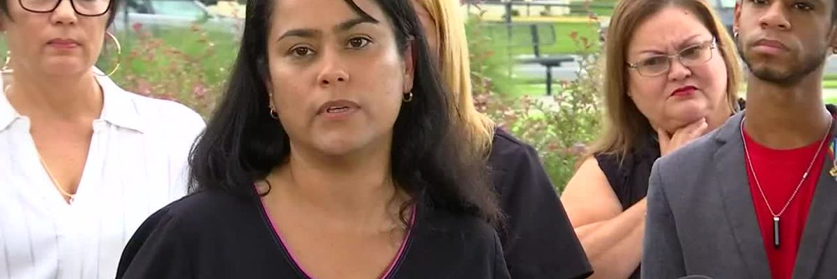 Nurses say they've been told not to speak Spanish at work