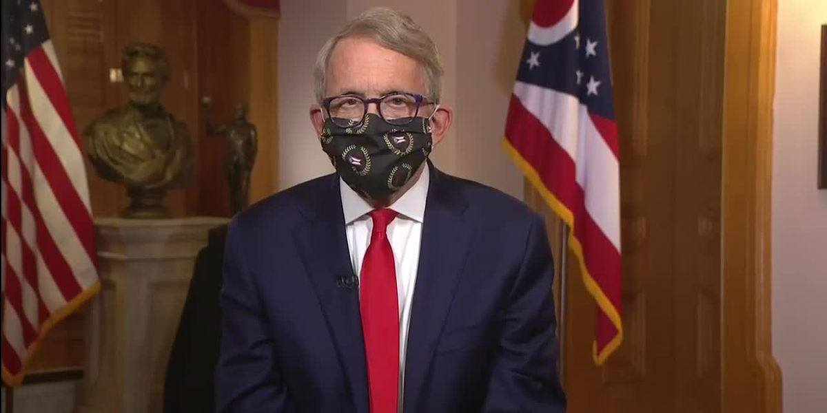 DeWine delivers rare evening address on state of COVID-19 pandemic in Ohio