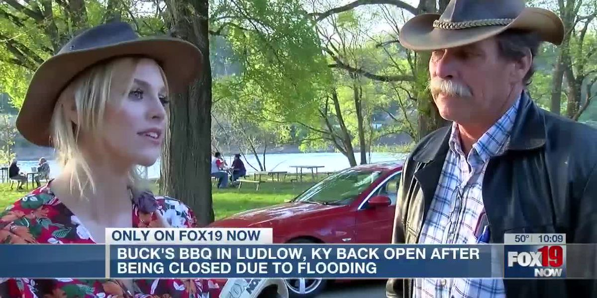 Buck's BBQ in Ludlow, Ky. back open after being closed due to flooding