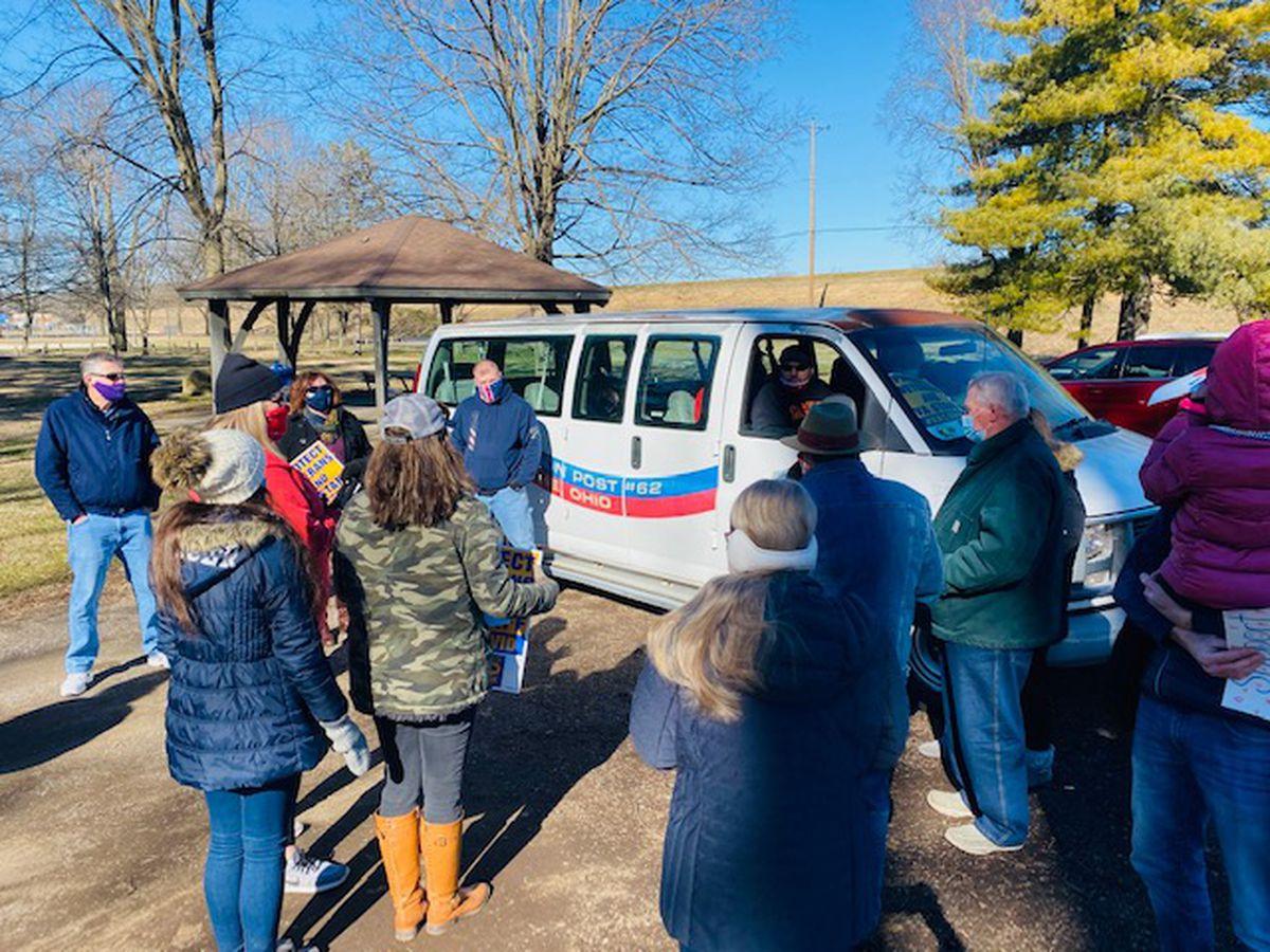 Union Workers, Veterans Protest Closure of Inpatient Care Unit