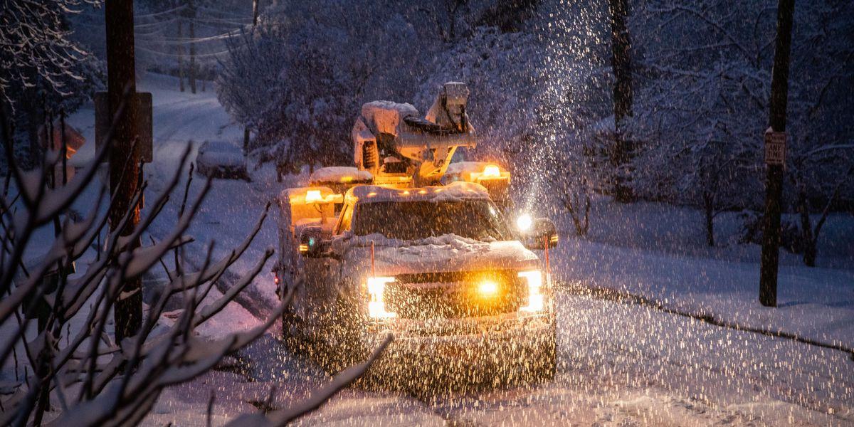 Swath of South faces wintry mess: Snow, sleet, freezing rain