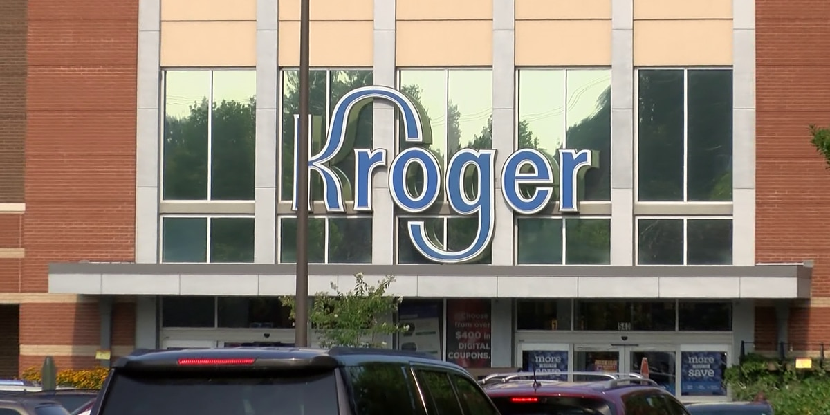 Kroger asking shoppers to leave guns at home