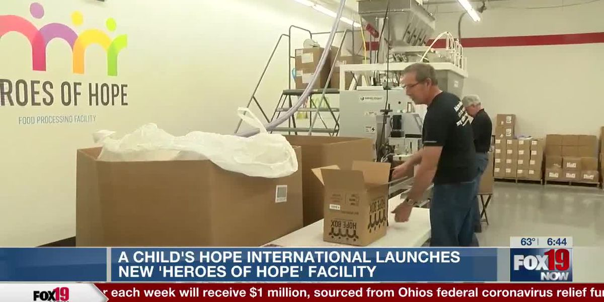 A Child's Hope International launches new Heroes of Hope facility