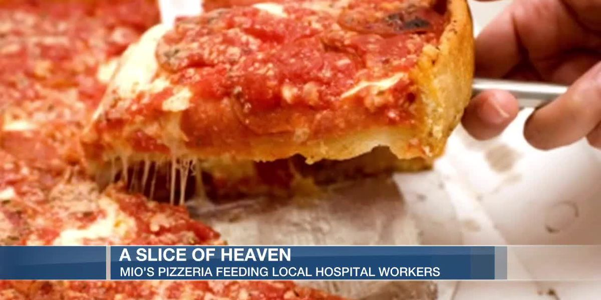 Local pizzeria feeding local hospital workers