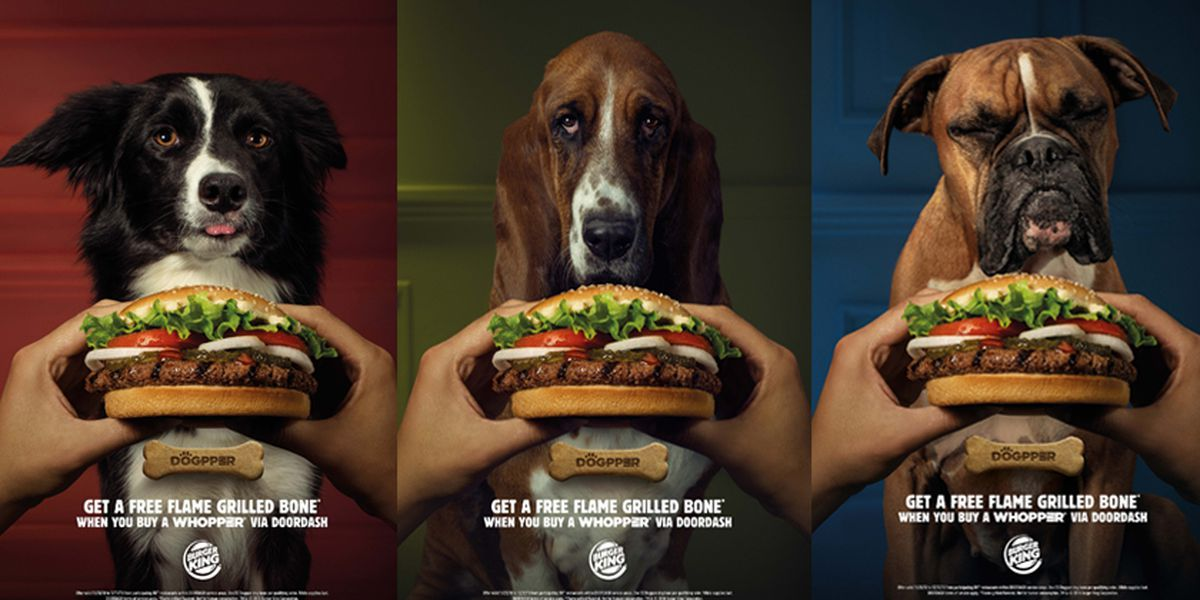 Whopper of a Story: Burger King goes to the dogs