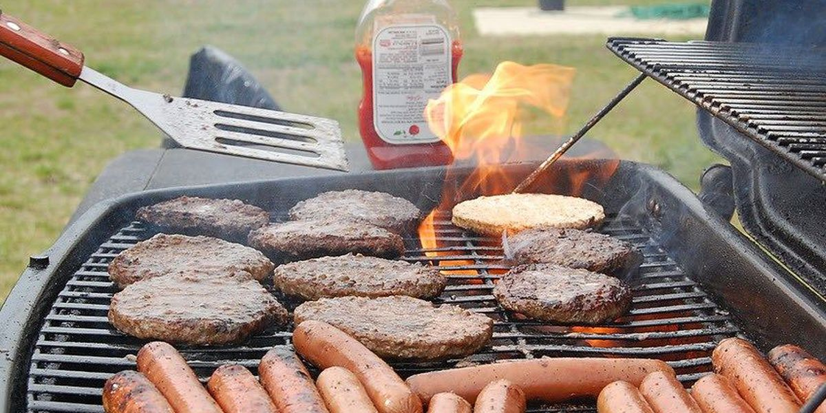 May, July peak months for grilling fires