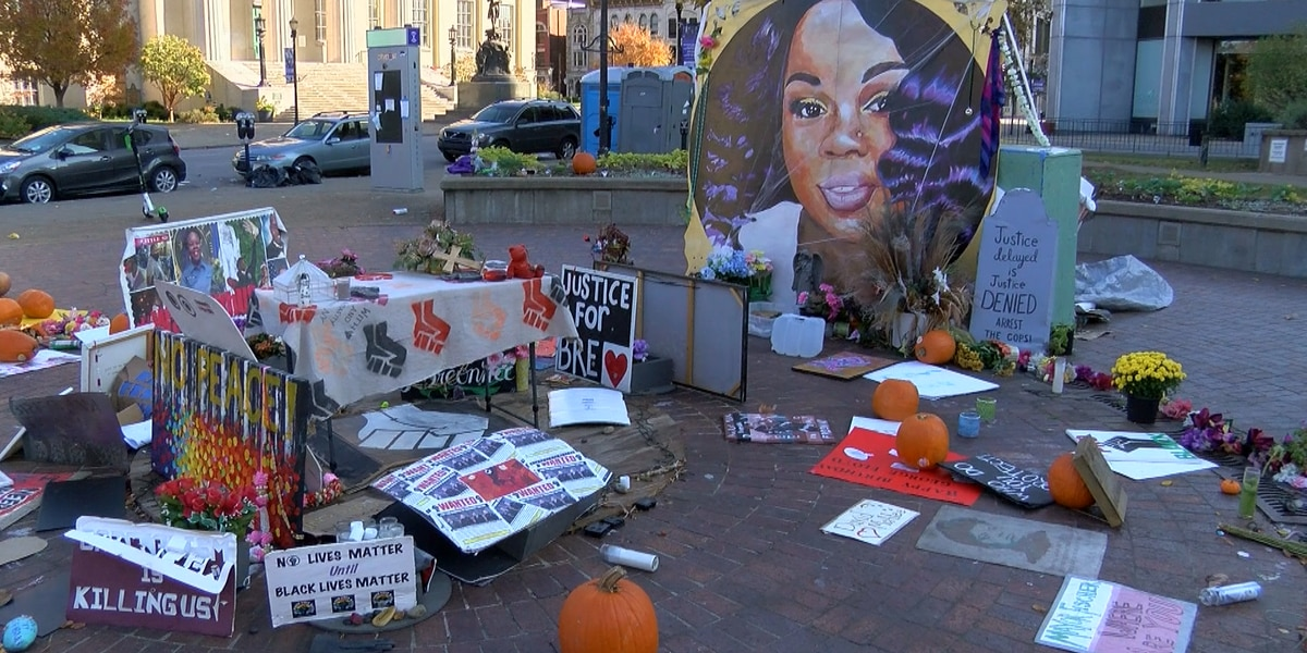 Protesters still demanding justice ahead of 1 year mark of Breonna Taylor's death