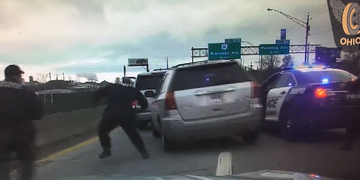 Ohio woman tells police she didn't stop during high-speed