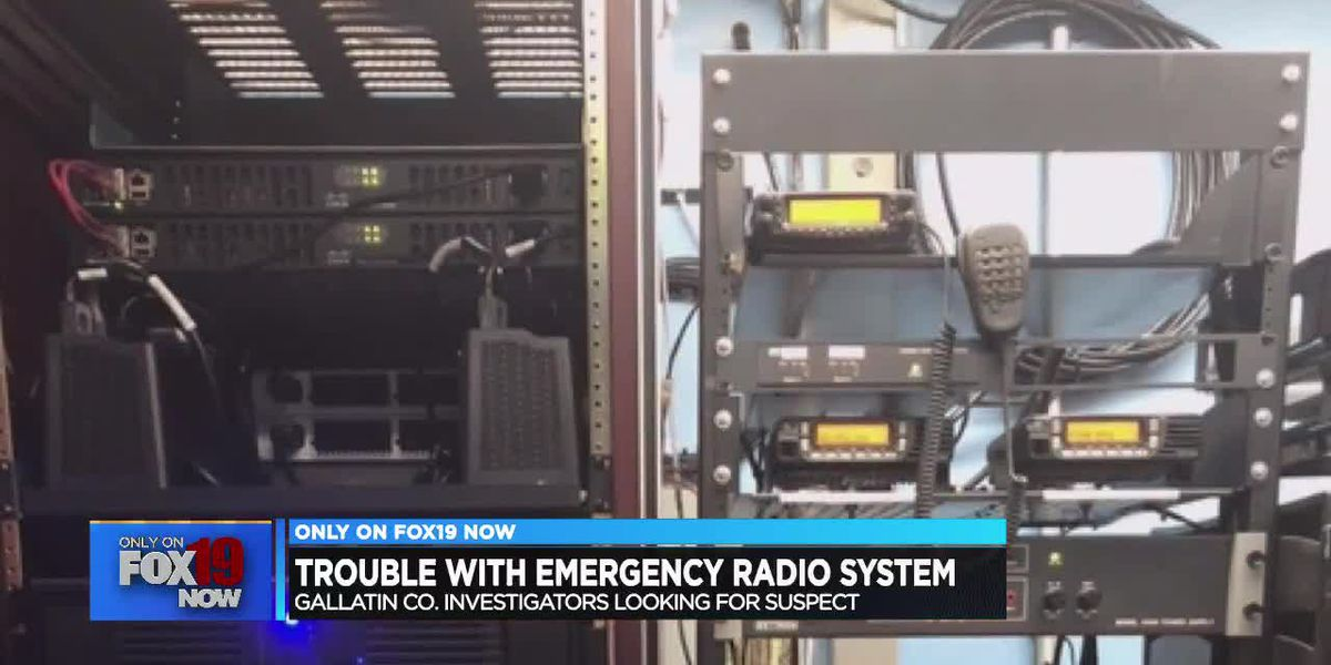 Trouble with emergency radio system
