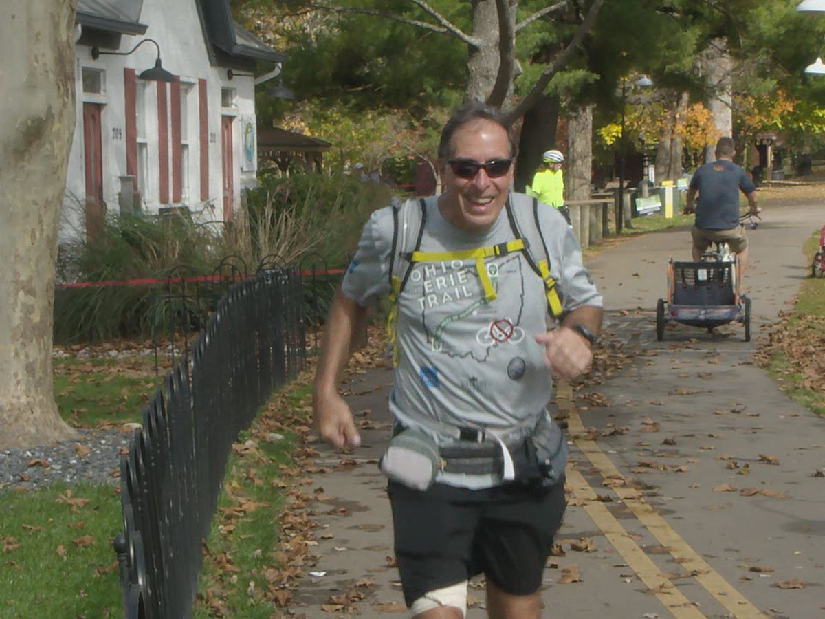 Cincinnati man runs 326 miles for charity
